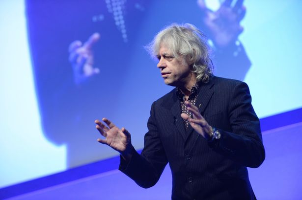 Bob Geldof Entrepreneur Summit featuring Chris Cardell